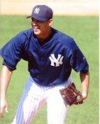 Javier Vazquez New York Yankees 8X10 Photo