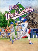 Dodgers 1988 World Series Program vs Oakland A's 100 Pages
