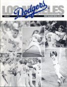 Dodgers 1988 World Series Post Season Media Guide Players Profiles 108 Pages