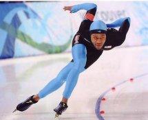 Shani Davis 2010 Olympics Speed Skater Gold Medalist 8X10 Photo