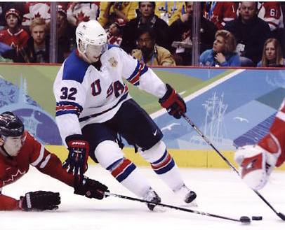Dustin Brown 2010 Olympics Team USA 8X10 Photo