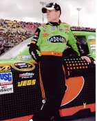 "Mark Martin 2010 ""Go Daddy"" 8X10 Photo"