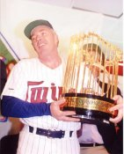 Tom Kelly Minnesota Twins 8X10 Photo