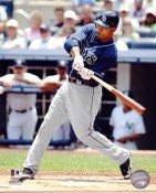Carl Crawford LIMITED STOCK Tampa Bay Devil Rays 8X10 Photo