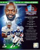 Emmitt Smith 2010 Hall Of Fame Composite SATIN 8X10 Photo