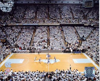 N2 Dean E. Smith Center 2005 UNC 8x10 Photo