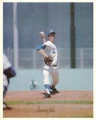 Tommy John Original Stadium Souvenir With Stamped Signature Dodgers 8X10 Photo
