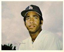 Von Joshua Original Stadium Souvenir With Stamped Signature Dodgers 8X10 Photo