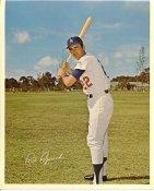 Paul Popovich Original Stadium Souvenir With Stamped Signature Dodgers 8X10 Photo