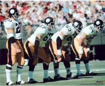 Rocky Bleier, Gary Dunn, Ernie Holmes, Jack Ham Pittsburgh Steelers 8x10 Photo LIMITED STOCK