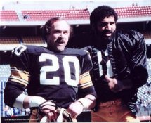 Rocky Bleier & Franco Harris Pittsburgh Steelers 8x10 Photo LIMITED STOCK