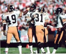 Donnie Shell, Blount, Woodruff & Merriweather Pittsburgh Steelers 8x10 Photo LIMITED STOCK