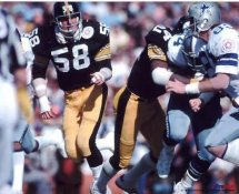 Jack Lambert Pittsburgh Super Bowl LIMITED STOCK Steelers 8x10 Photo