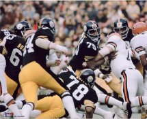 The Steel Curtain Pittsburgh Steelers 8x10 Photo