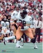 Sidney Thornton & Terry Bradshaw Pittsburgh Steelers 8x10 Photo