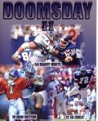 Ed Jones, John Dutton & Randy White Doomsday II Dallas Cowboys 8X10 Photo