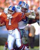 John Dutton Tackles John Elway Dallas Cowboys 8X10 Photo  LIMITED STOCK