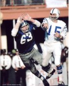 Larry Cole Dallas Cowboys 8X10 Photo  LIMITED STOCK