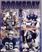 Bob Lilly, Larry Cole, George Andrie & Jethro Pugh Doomsday I Dallas Cowboys 8X10 Photo