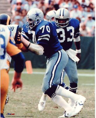 Rayfield Wright Dallas Cowboys 8X10 Photo