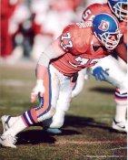 Karl Mecklenberg Denver Broncos 8X10 Photo