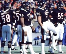 Chicago 1986 Bears Defense 8X10 Photo LIMITED STOCK