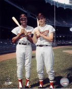 Frank Robinson & Brooks Robinson Baltimore Orioles 8X10 Photo