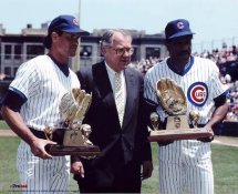 Andre Dawson & Ryne Sandberg 1988 Gold Glove Award Chicago Cubs 8X10 Photo LIMITED STOCK