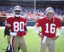 Joe Montana & Jerry Rice San Francisco 49ers 8X10 Photo LIMITED STOCK