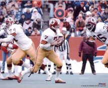 Joe Theismann, Calvin Hill & George Starke Washington Redskins 8x10 Photo