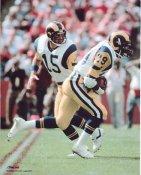 Eric Dickerson & Vince Ferragamo LA Rams 8X10 Photo  LIMITED STOCK
