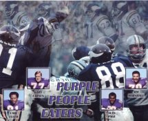 Carl Eller, Alan Page, Gary Larsen, Jim Marshall Purple People Eaters 8X10 Photo  LIMITED STOCK