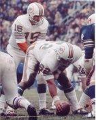 Jim Langer & Earl Morrall Miami Dolphins 8X10 Photo