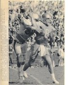 Troy Aikman UCLA Quarterback Original Wire Photo Laser Paper Stock Approx 8x10 Cowboys