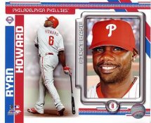 Ryan Howard LIMITED STOCK Philadelphia Phillies 8X10 Photo