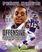 Percy Harvin Offensive Rookie of the Year Minnesota Vikings 8X10 Photo