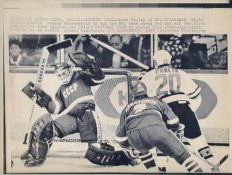 Dave Poulin NHL All Stars / Flyers Original Press Photo Laser Paper Stock Approx. 8.5x11
