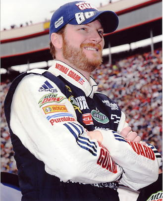 Dale Earnhardt Jr. 2010 Nascar 8X10 Photo