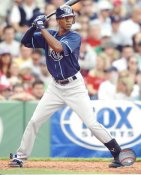 BJ Upton LIMITED STOCK Tampa Bay Devil Rays 8X10 Photo