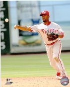 Jimmy Rollins Philadelphia Phillies 8X10 Photo