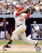 Torii Hunter LIMITED STOCK Anaheim Angels 8X10 Photo