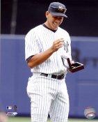 Alex Rodriguez 2010 World Series Ring Ceremony New York Yankees 8X10 Photo