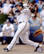 Carlos Gomez LIMITED STOCK Milwaukee Brewers 8X10 Photo