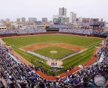 E3 Wrigley Field 2010 Opening Day Chicago Cubs 8X10 Photo