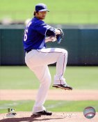 CJ Wilson Texas Rangers 8X10 Photo