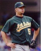 Joe Blanton Oakland Athletics 8X10 Photo