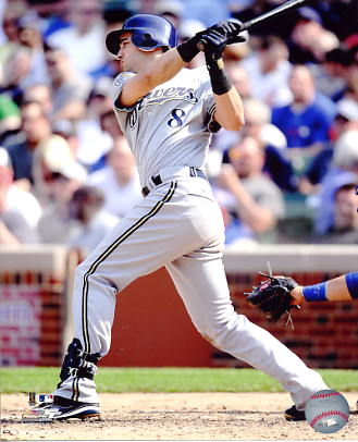Ryan Braun LIMITED STOCK Milwaukee Brewers 8x10 Photo