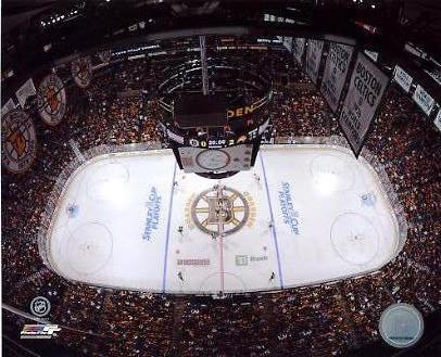 N2 Banknorth Garden Boston Bruins Stanley Cup Playoffs 8x10 Photo