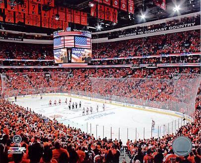 N2 Wachovia Center Philadelphia Flyers Stanley Cup Playoffs 8x10 Photo