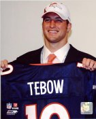 Tim Tebow 25th Draft Pick LIMITED STOCK Denver Broncos 8X10 Photo